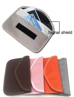 Anti-Tracking/Radiation Blocking, Colour PHONE fob Shielding POUCH